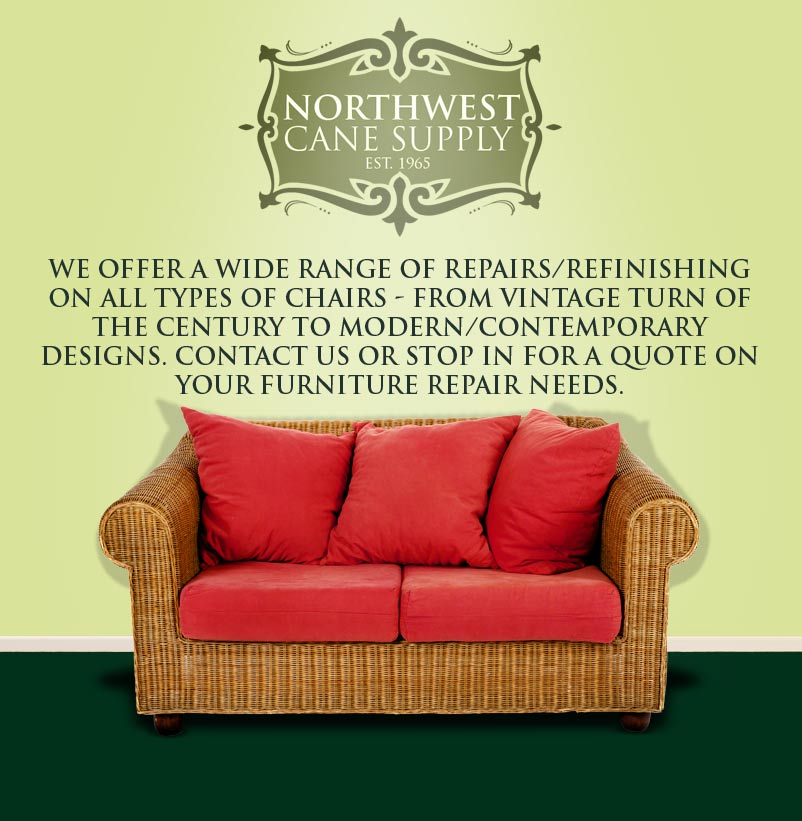 Wicker chair repair Seattle