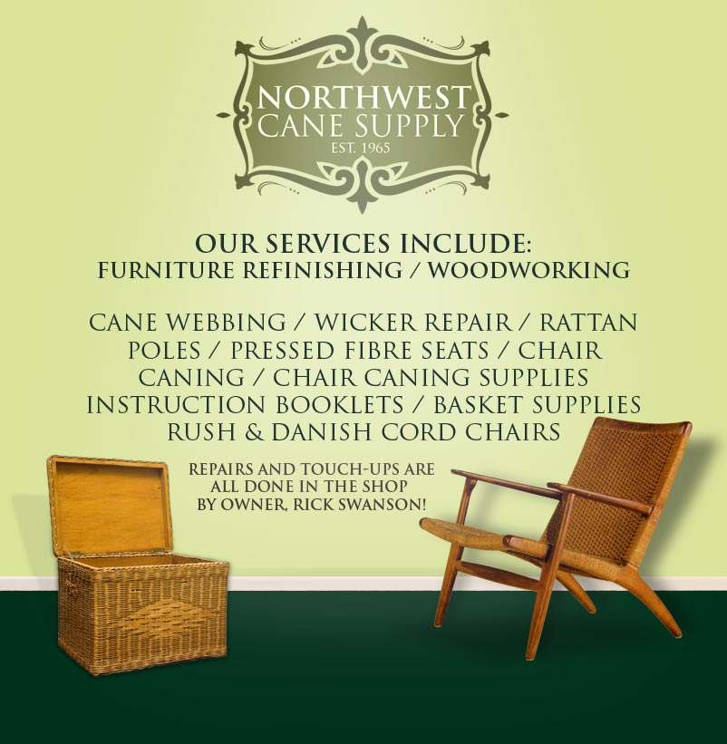 wicker and wicker chair repair in Seattle
